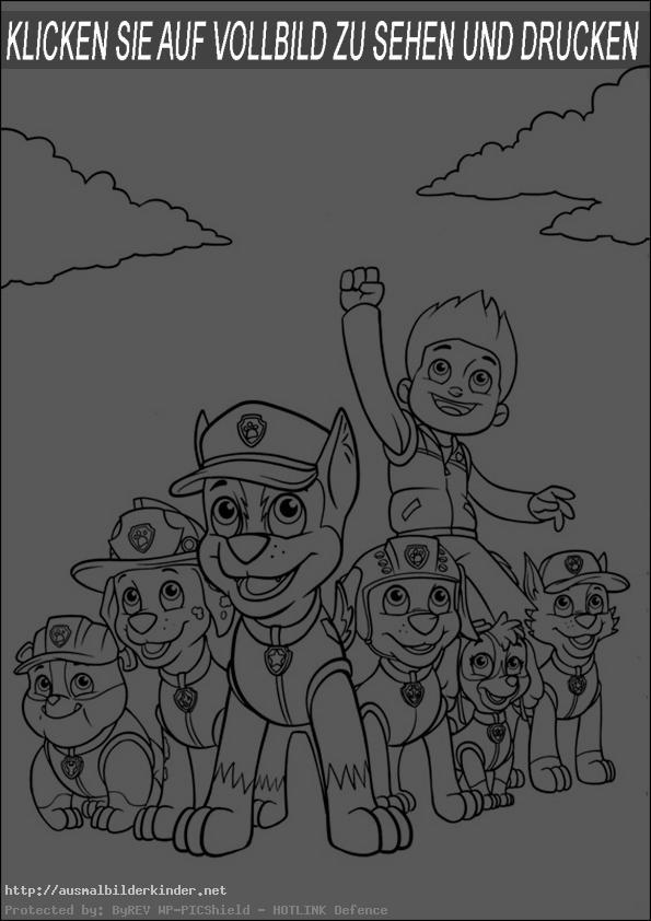 ausmalbilder kinder paw patrol-4